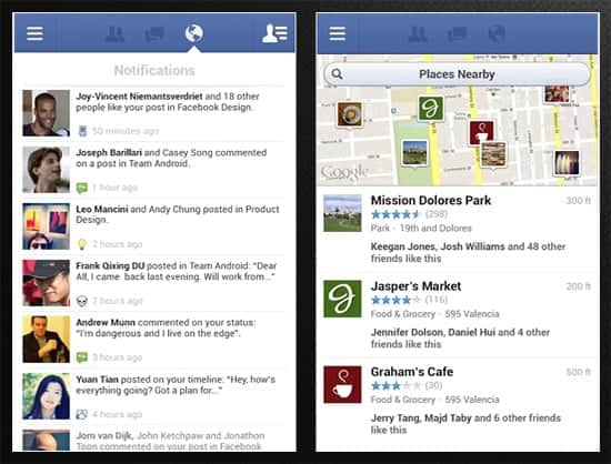 Facebook2 - Top 25 Apps for Android Phones (2014)