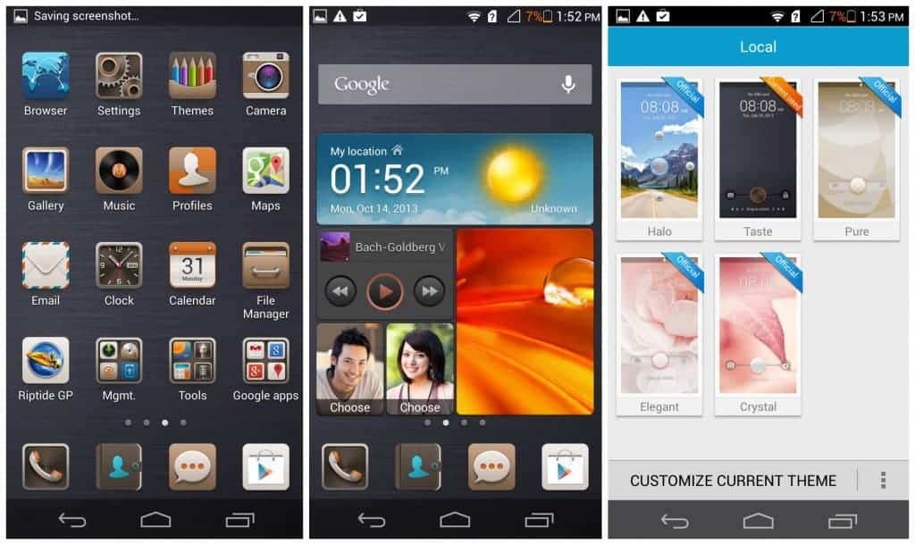 Huawei-ascend-p6-software