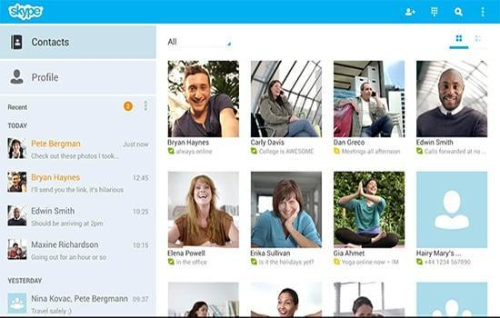 Skype6 - Top 25 Apps for Android Phones (2014)