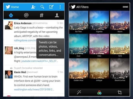 Twitter - Top 25 Apps for Android Phones (2014)