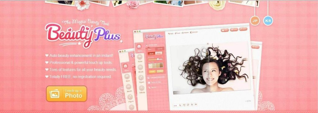 beauty plus 1024x364 - BEAUTY APPS FOR ANDROID TO MAKE YOU BEAUTY LOOK IN MINUTE