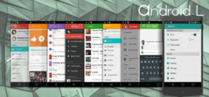 Android l 5.0 for CM11 Theme 300x139 - Change Your Android CM11 Devices To 5.0 L Look