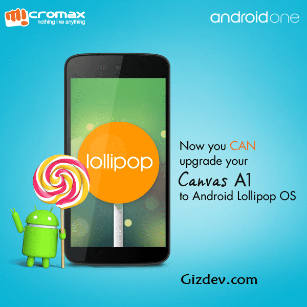 Micromax Canvas A1 Lollipop - Micromax Canvas A1 Android One Unlock Boot Loader Update Lollipop Manually
