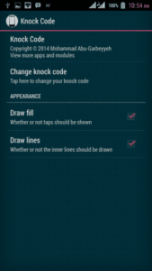 Set a Knock Code Pattern 169x300 - LG Knock Code Lock For All Android Device