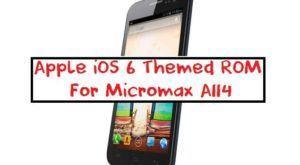 apple ios 6 themed rom for micromax a114 300x165 - [Custom Rom] IPhone 6 Themed Rom For Micromax A114 Canvas 2.2