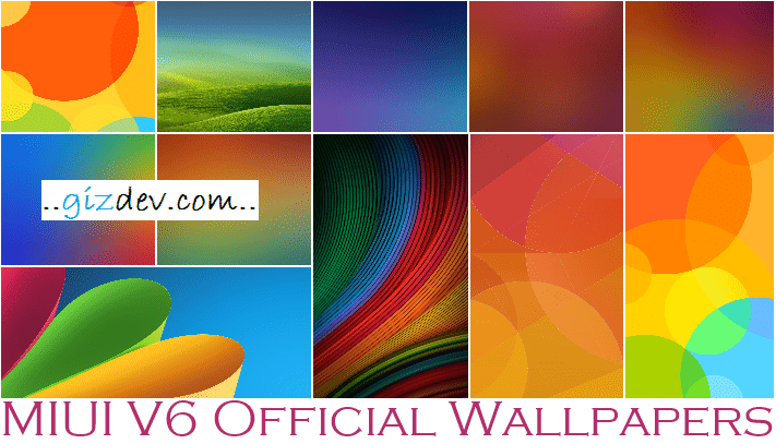 Download MIUI V6 Stock HD Wallpapers and Ringtones