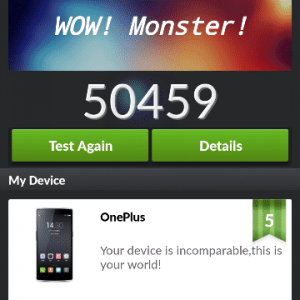 oneplus Antutu1 300x300 - Honor 6 Plus VS Asus Zenfone 2 VS OnePlus One VS Xiaomi Mi4 Specification War