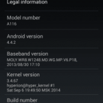 Discovery Android 4.4.2 Kitkat Rom For Micromax A116 Canvas HD 2 150x150