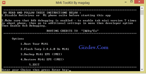 Mi4i Toolkit - Guide For Xiaomi Mi4i Root Install Twrp Recovery Repair Imei