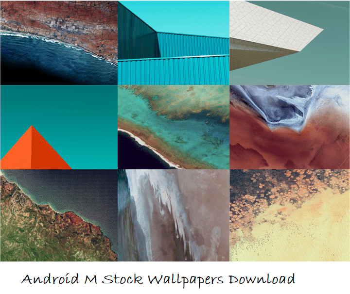 Download Android M Stock Wallpapers Full Package In Zip