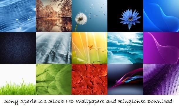 Download Sony Xperia Z1 Stock Hd Wallpapers And Ringtones