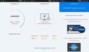 kingroot desktop 300x178 - Guide To Root Any Android Devices with the Kingroot Tool Without Pc