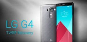 lg g4 twrp recovery 300x145 - Guide To Install TWRP Recovery On LG G4 For Root and Custom Roms
