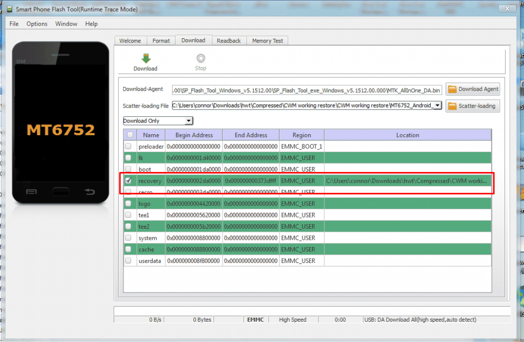 Lenovo A7000 Recovery 4 1024x670 - Lenovo A7000 Install Cwm Or Twrp And Root The Phone
