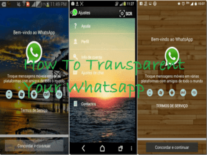 Screenshot 1 300x225 - Download Transparent Whatsapp Apk For Any Android Phones