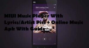 Xiaomi MIUI 6 music player1 300x165 - MIUI Music Player With Lyrics/Artist Pics + Online Music Modified Player