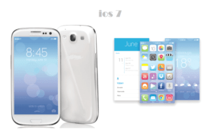 android ios 7 300x188 - Ios 7 Interface For Any Android Device