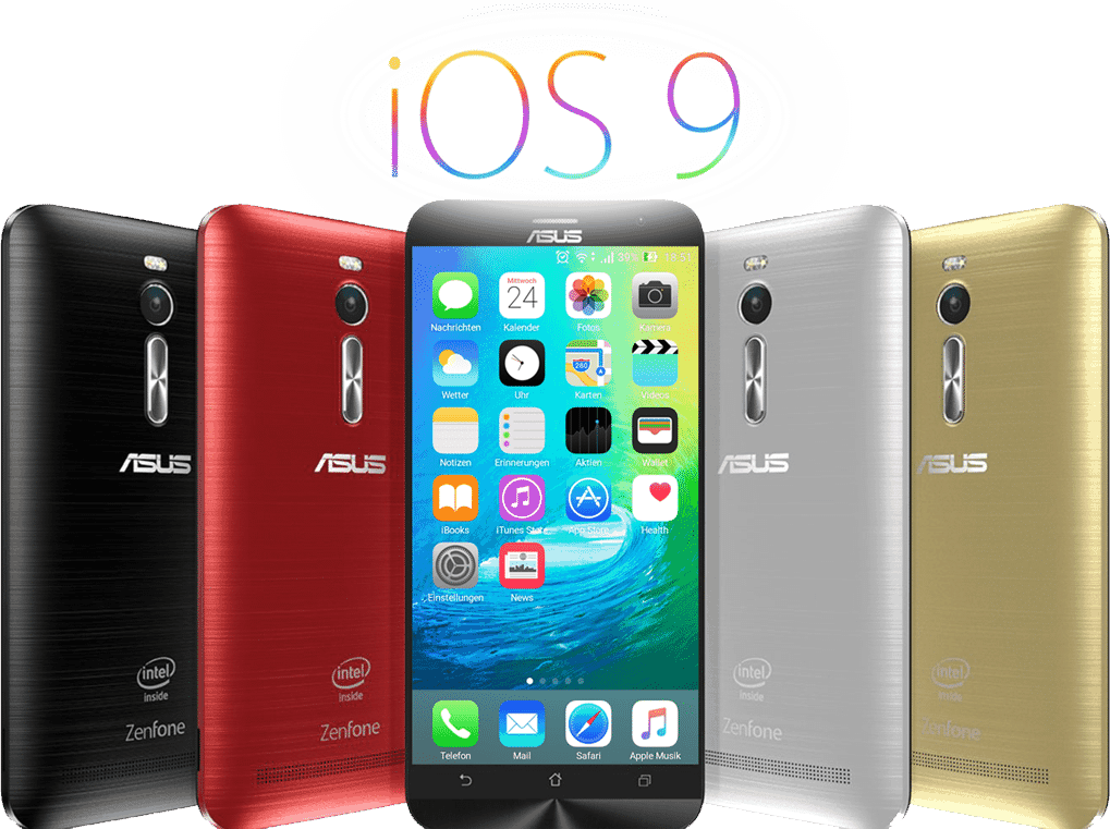 Theme] I launcher + ios 9 Theme For Asus Zenfone 2