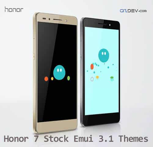 honor 7 Stock Themes