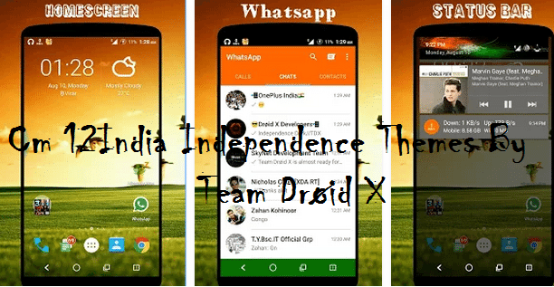 Cm 12 Independenc theme - [Theme] Cyanogenmod 12 India Independence Themes