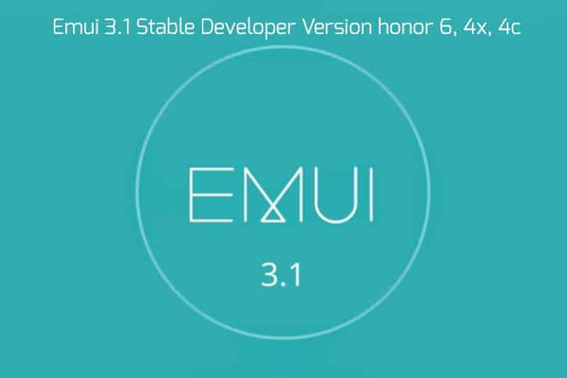 Honor 64x4c emui 3.1 - EMUI 3.1 Android 5.1 For Honor 6, 4x, 4c Other Models Stable Version