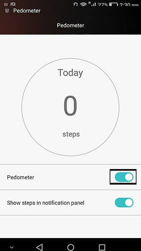 Pedometer Honor 6 2 - [Guide]How Activate Pedometer In Honor 6