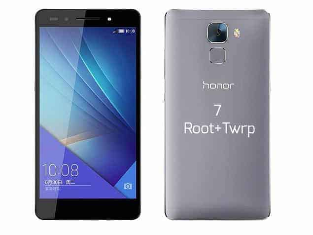 honor 7 root twrp