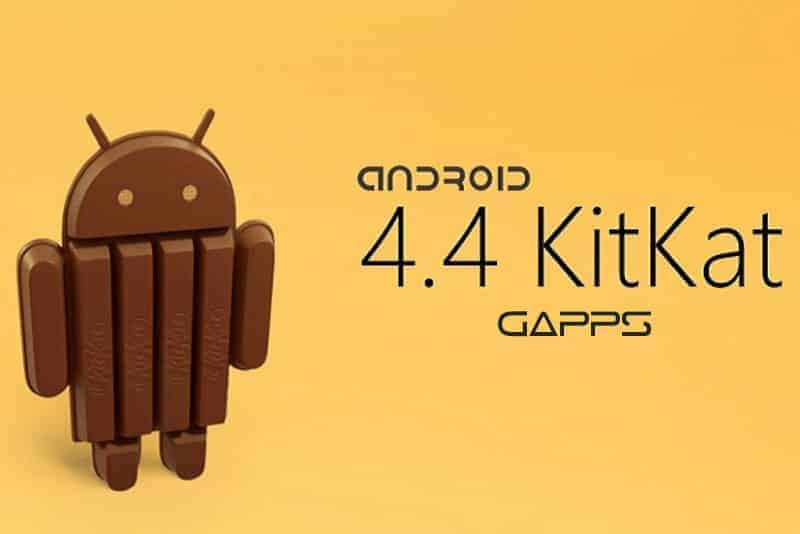 kitkat gapps - Android Kitkat 4.4.4 Official Slim GApps For Any Rom's