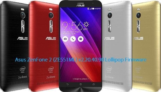 Asus ZenFone 2 lollipop