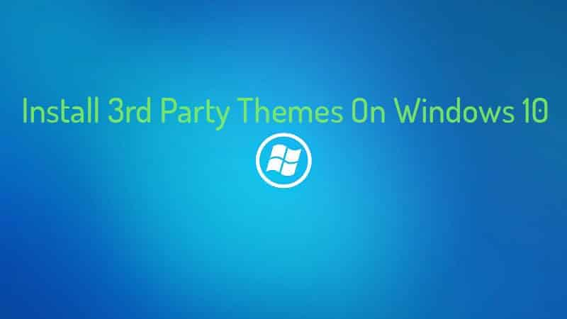 Free windows 10 wallpapers - Install 3rd Party Themes On Windows 10