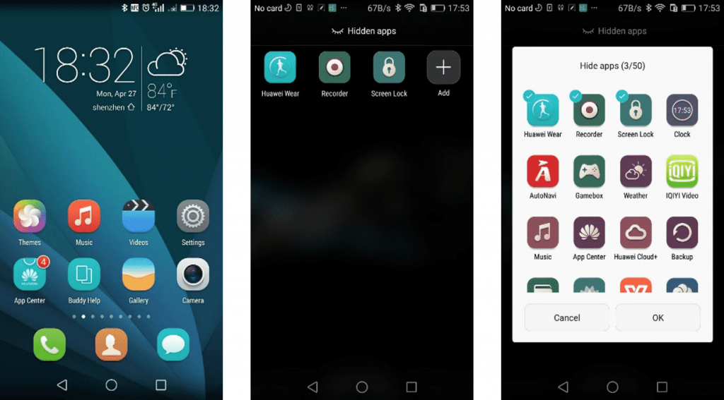 Honor 4c Emui 3 3 1024x567 - Official Android Lollipop 5.1 Emui 3.1 Stable Released For Honor 6 L04