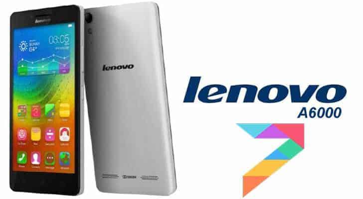 Lenovo A6000 plus miui 7