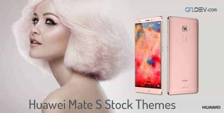 The rose gold Huawei Mate S 750x379
