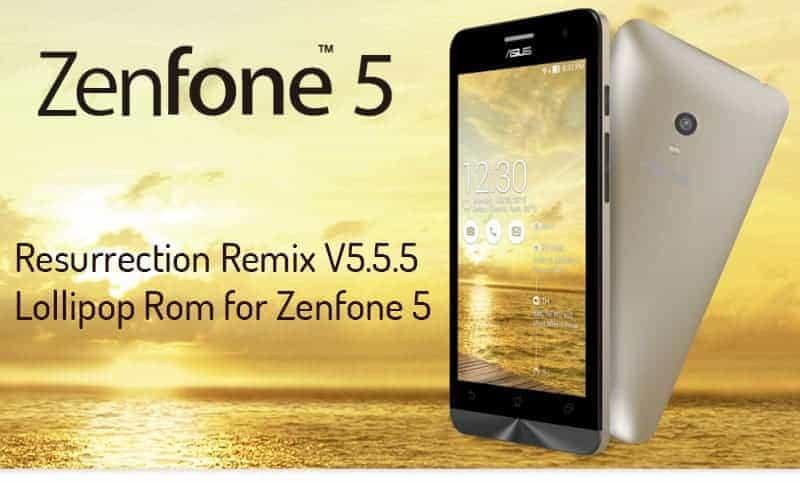 Zenfone 5 lollipop