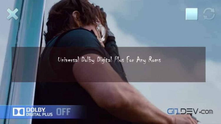 Install Universal Dolby Digital Plus