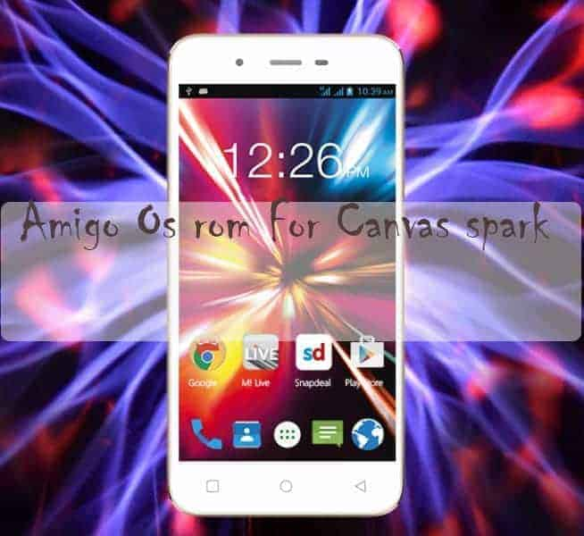 rom for Micromax Canvas spark