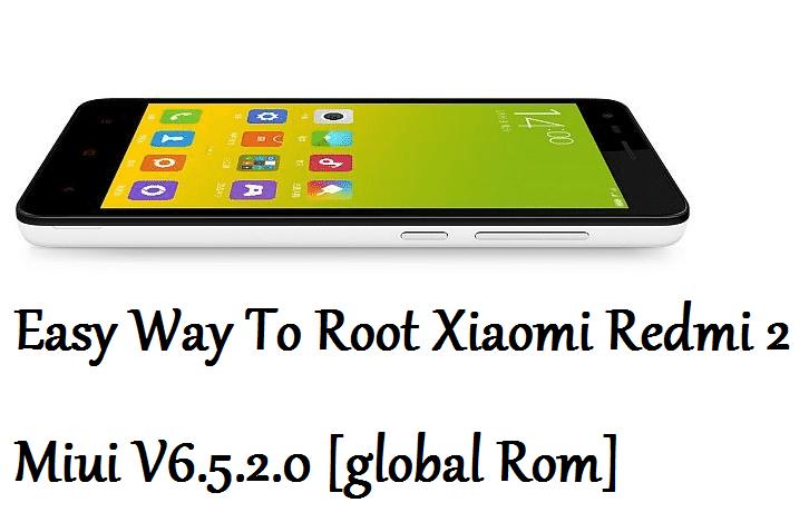 Root-Redmi 2-Miui V6.5.2.0-global