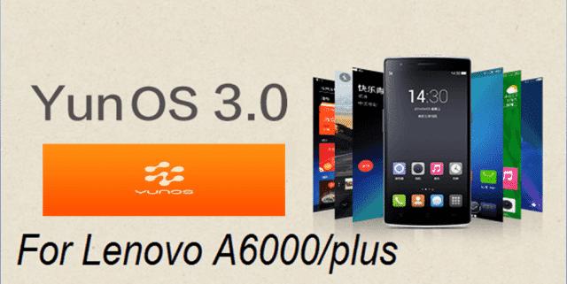YunOs kitkat Lenovo A6000Plus 1