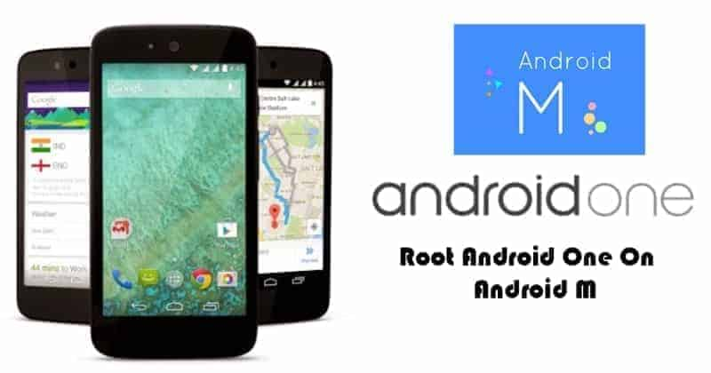 android one android m root - Root Your Android One Devices In Android 6.0 Marshmallow