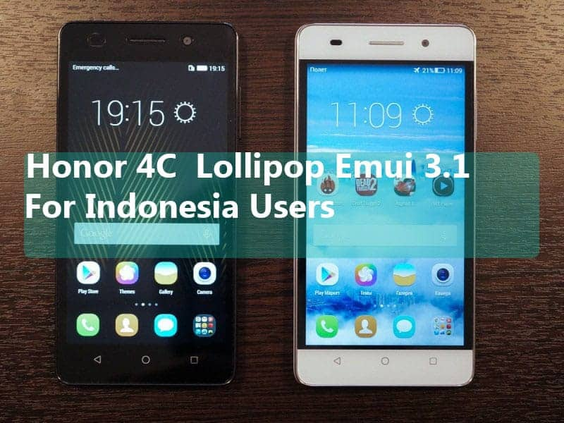 Honor 4C Stable Lollipop Rom