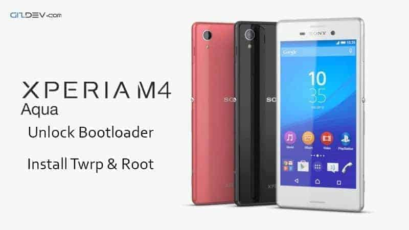 Sony Xperia M4 Aqua Unlock Bootloader Install Twrp & Rooting Guide