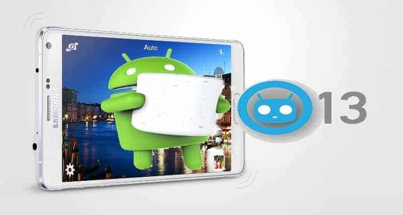 galaxy note 4 cm 13 android 6.0 - [Rom] Android M CyanogenMod 13 For NOTE 4 SM-N910F & SM-N910G