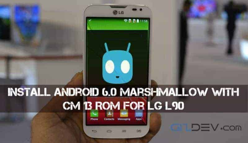 imageedit 2 56133027931 - Install Android 6.0 Marshmallow with CM 13 ROM For LG L90