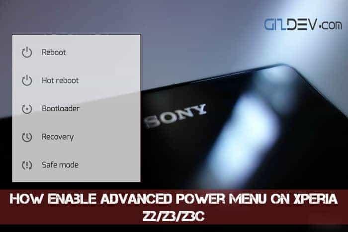 imageedit 2 7597880344 - How To Enable Advanced Power Menu On Xperia Z2/Z3/Z3C
