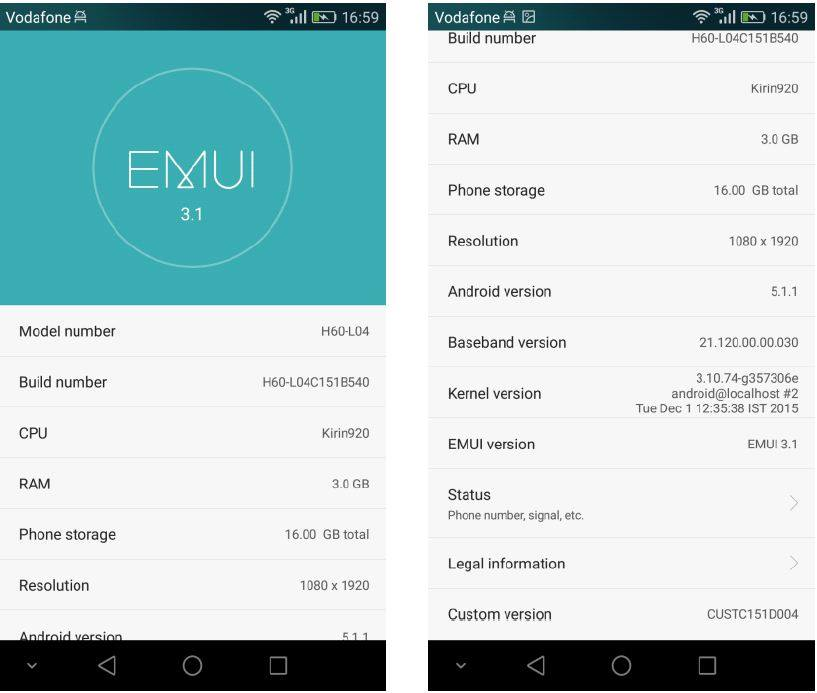 H60 L04C151B540 - [UPDATE] Honor 6 L04 (India) New Lollipop Updated Fixed Bugs With New Features