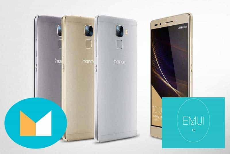 Honor 7 Emui 4.0 Android M - [ROM] Official Emui 4.0 Android M For Honor 7 PLK-L01