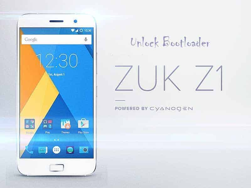 Lenovo zuk z1 unlock bootloader - Guide To Unlock Bootloader Of Lenovo ZUK Z1 For Rooting Recovery