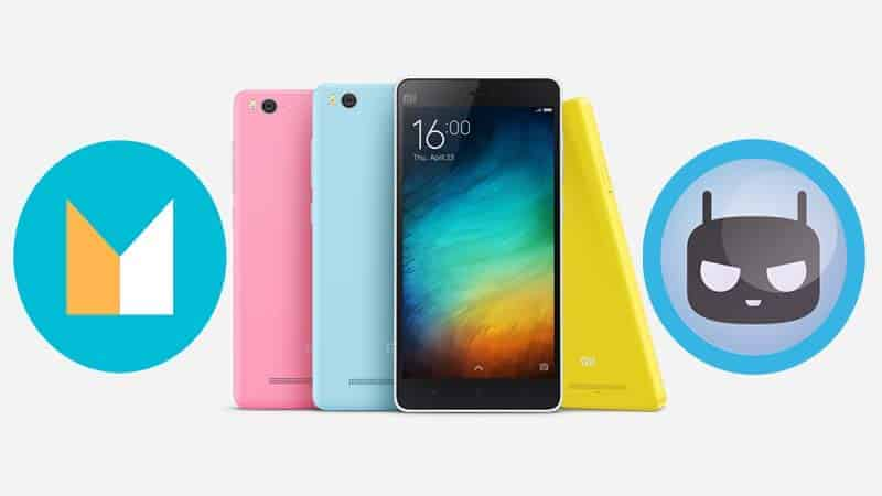 Mi4i CM 13 Android 6.0.1