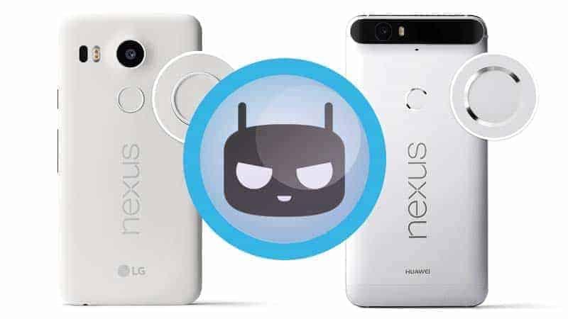 Nexus 6P Nexus 5X Cyanogenmo 13 - [ROM] Official Cyanogenmod 13 Rom For Google Nexus 6P And Nexus 5X