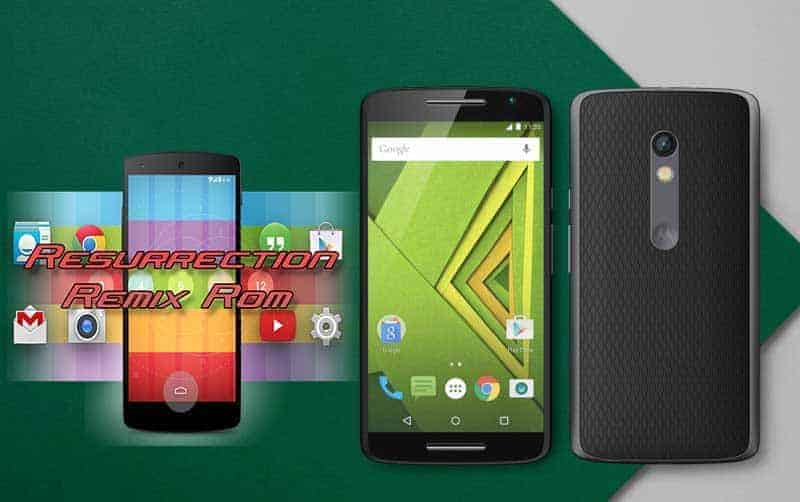 moto x play Resurrection Remix lollipop rom  - [ROM] Resurrection Remix Lollipop Android 5.1.1 Custom Rom For Moto X Play